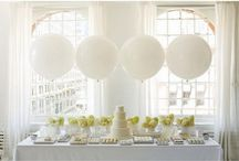Wedding Balloons / Today Balloons are a TRENDY and AFFORDABLE way to add a touch of YOUR personality to this very BIG day! I had Jumbo White Balloons at *MY*wedding and my guest were in Awe!! Go ahead! Give it a try!