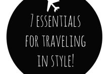 Travel in Style / Little things we love that make travel easier.