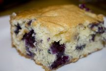 Blueberry cake  / Baking