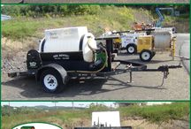 HydroSeeder / Plant grass the quick and easy way with a HydroSeeder! Call: 570-366-1071 for Prices & Details! Email: Info@arkrentals.com
