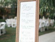 Wedding Menu Boards
