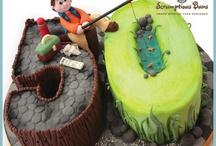 gramme 50th cake
