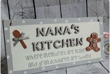 Grandparent Plaques / Plaques for grandparents
