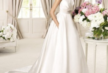 Pocket Wedding Gowns / Pocket wedding gown will definitely be trending in 2013 thanks to Pronovias, and Rosa Clara etc. There's some special sort of swag that surrounds pocket wedding gowns, it's so chic, practical, and elegant! / by Nigerian Wedding