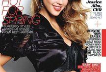 Jessica Alba: Magazine Covers / by Jessica Alba