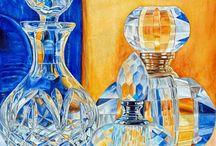 Натюрморт и стекло