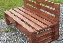 pallet furniture / furniture made from recycled pallets