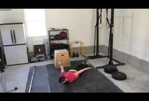 At Home Workouts / Fitness isn't just for those who have fancy memberships or tons of equipment. Using your bodyweight and simple items and equipment you have at home, you can create a great full body workout program.