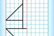 rysunki symetryczne
