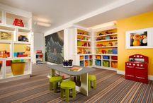 Decoración de habitación para niños