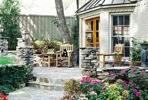 Outdoor Patio / Enhancing outdoor spaces with useable outdoor rooms.