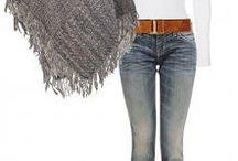 tricot, crochet, poncho etc