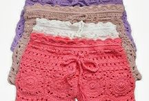 шорты,брюки.вязание