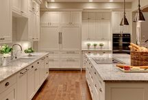 In love with white kitchens