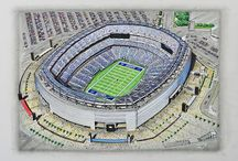 USA NFL Stadia Art / Stunning Art of NFL Stadia from the USA available on a great range of products @ www.sportsstadiaart.com