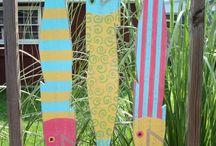 Top Notch Diy Living Fence Art