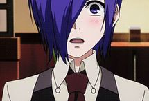 "Tokyo Ghoul / ""Whether I live or die, is no big deal."" -Juuzou"