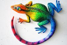 Gecko's und Feuersalamander