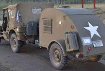 Willys Jeep Teardrop Campers