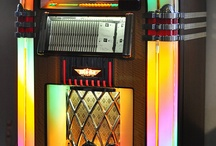 """Jukeboxes / """"...so put another dime in the jukebox, baby.""""  Joan Jett"""