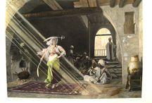 Danseuses orientales - Peinture et Photographie / Œuvres artistique sur la danse orientale.