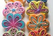 Sugar cookies/ flowers