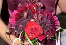 Red, Burgundy Bouquets