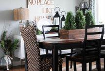 dining decor...