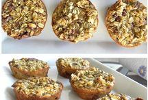 Muffins en bagels / Verschillende soorten