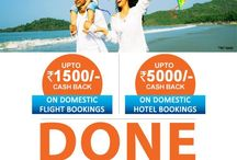 Citibank - Goibibo Offer / The biggest travel deal on the year is LIVE on goibibo with Citi Bank Credit Cards.