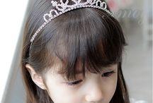 Corona de cumpleaños niña