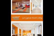 Get Gypsum Board Ceilings