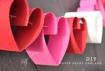 Papieren Hart Krans