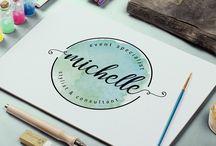 watercolor logo ideas