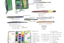 sketching • le matériel