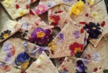 jedlé květiny - edible flowers