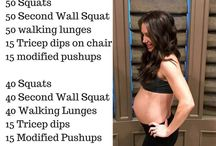 Pregnancy and post pregnancy workouts