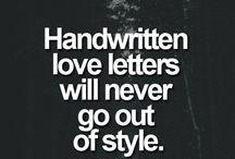 Letter Writing / I miss having Pen Pals!