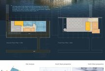 Architectural Boards and secion sketches and other board stuff