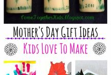 [Holiday] Mother's Day / Mother's Day crafts, activities, brunch ideas