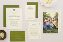 Wedding Invitations / A collection of lovely wedding invitations found through Pinterest that I like