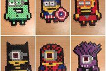 Beads/Perler/Hama super heroes