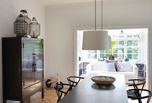 LIVING AND DINING ROOM || home