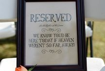 For those in Heaven on my Wedding