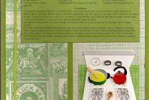 Scrapbooking Cookbook / by Samantha Telleford