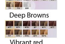 hajfesték színek