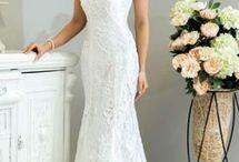 Vestidos em crochê para noivas