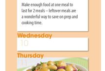 #RescuedMoments August 2016 Weekly Meal Planners
