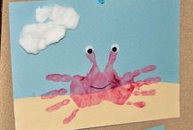Summer Handprint Crab