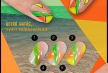 Classic Nails köröm minták